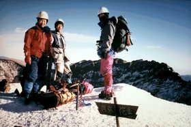 19960101-阿弥陀南稜から赤岳・権現岳を歩く.JPG