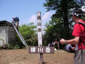 20070527-期待した花には遅すぎたようですが横山岳に上りました.JPG